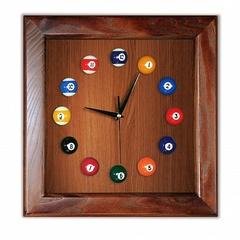 """Часы бильярдные """"Квадрат"""""""