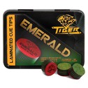 """Наклейка для кия """"Tiger Emerald Medium/Hard"""""""