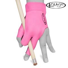 """Перчатка для бильярда """"Kamui Quickdry розовая"""""""