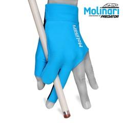 """Перчатка для бильярда """"Molinari голубая"""""""