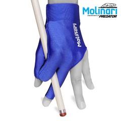 """Перчатка для бильярда """"Molinari синяя"""""""