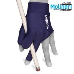 """Перчатка для бильярда """"Molinari темно-синяя"""""""