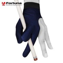 """Перчатка для бильярда """"Fortuna Classic Dark Blue""""."""