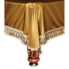 Покрывало Венеция шёлк темное золото