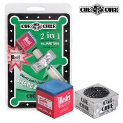 """Инструмент для обработки наклейки """"Cue Cube с мелком"""""""